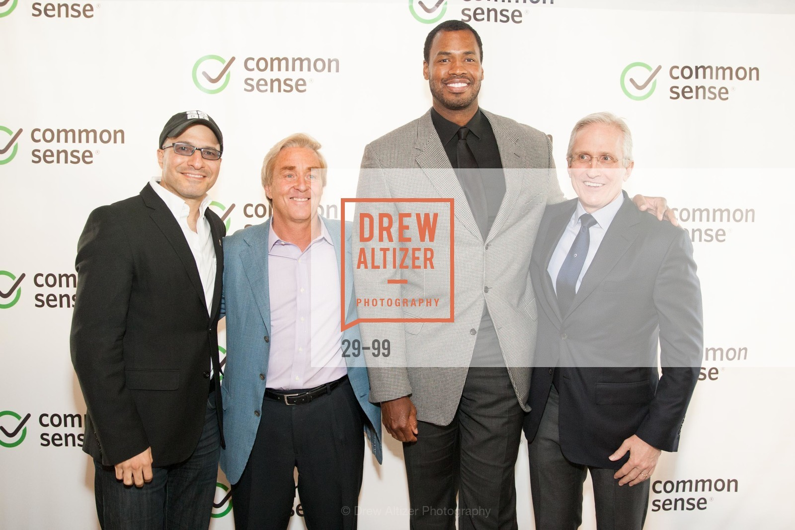 Hadi Partovi, Jim Steyer, Jason Collins, James Coulter, Common Sense Media Awards 2015, SF Jazz. 201 Franklin St, May 13th, 2015,Drew Altizer, Drew Altizer Photography, full-service agency, private events, San Francisco photographer, photographer california