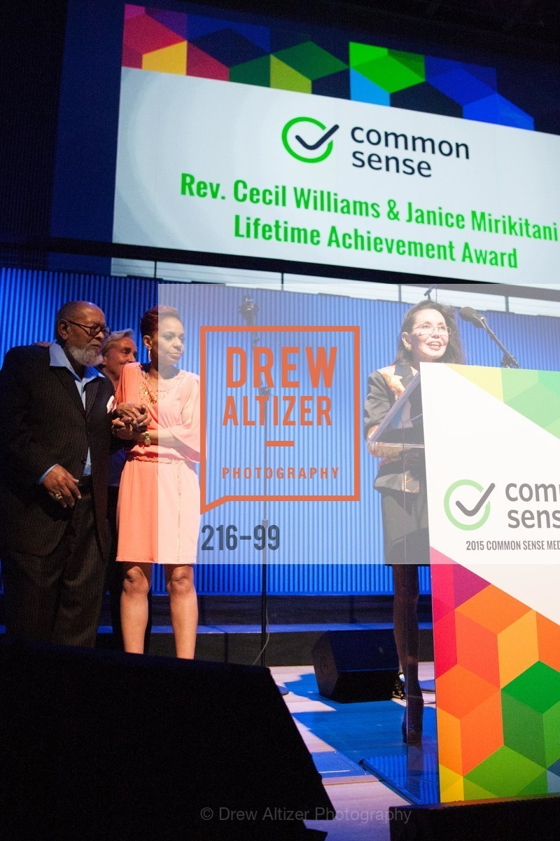 Reverend Cecil Williams, Renel Brooks-Moon, Janice Mirikitani, Common Sense Media Awards 2015, SF Jazz. 201 Franklin St, May 13th, 2015,Drew Altizer, Drew Altizer Photography, full-service agency, private events, San Francisco photographer, photographer california