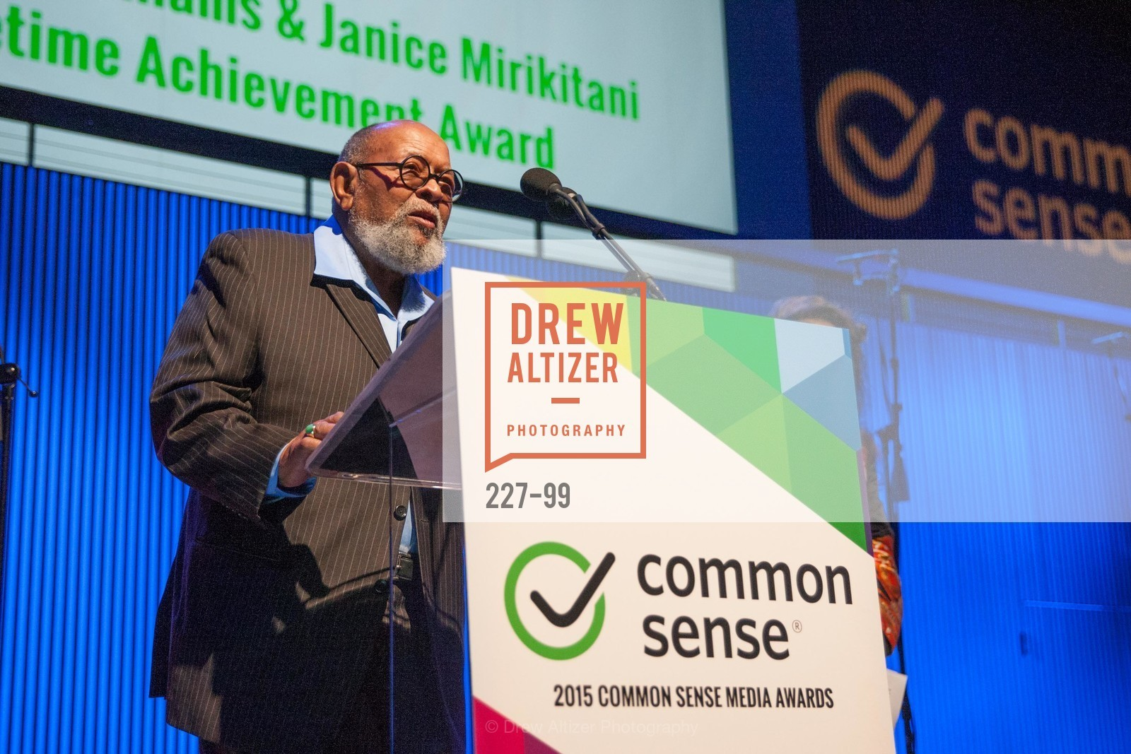 Reverend Cecil Williams, Common Sense Media Awards 2015, SF Jazz. 201 Franklin St, May 13th, 2015,Drew Altizer, Drew Altizer Photography, full-service agency, private events, San Francisco photographer, photographer california